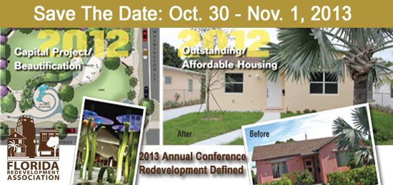 Save the Date: 2013 FRA Annual Conference - Redevelopment Defined