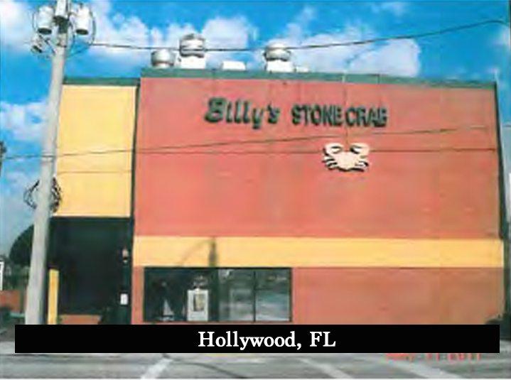 Hollywood Fl News >> Billy S Stone Crab Hollywood Fl Florida Redevelopment