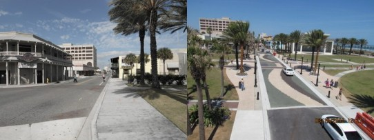 Jacksonville Beach Completes First Half of North Street Reconstruction Project